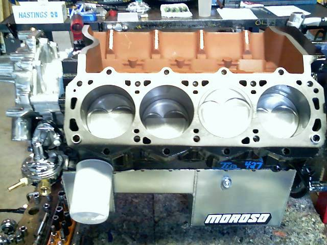 Engine Factory Ford 418W engine 515 HP