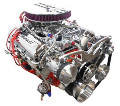 Engine Factory Chevy Big Block and Stroker Engines | 800-326