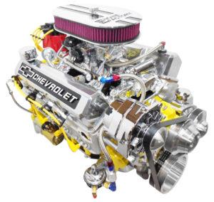 Engine Factory 350 Yellow Block engine