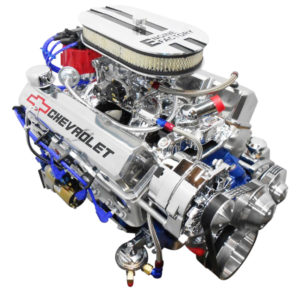 Engine Factory 350 engine Chrome Valve Covers