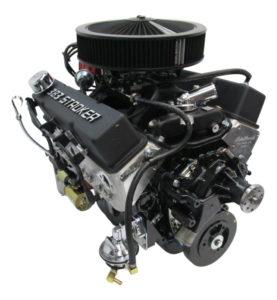 383 Chevy Stroker Black