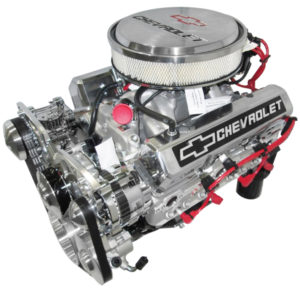 Engine Factory 350 engine with Chrome Air Cleaner