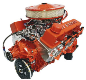#17 - 383 Chevy Stroker with Orange Valve Covers